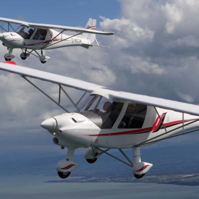 COMCO IKARUS C42E 轻型运动飞机获西南局颁发特殊适航证