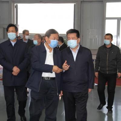 武宏文市长陪同山西能源交通投资有限公司董事长视察调研