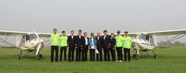 热烈祝贺日照锐翔C42E飞行表演圆满成功